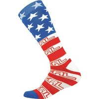 Oneal Pro MX Print USA Socks For Motocross Use