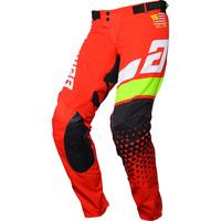 Answer Elite Korza Pants Red/White/Hyper Acid/Black