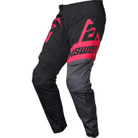 Answer Syncron Voyd Youth Pants Black/Charcoal/Pink