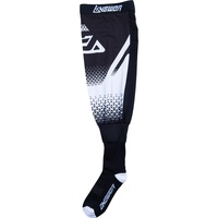 Answer Knee Brace Socks White/Black
