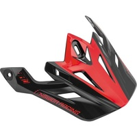 Answer Replacement Visor Peak Midnight/Bright Red for AR1 Helmets