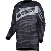 Answer Elite Ops Jersey Black/Charcoal