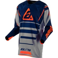 Answer Elite Force Jersey Charcoal/Midnight
