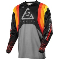 Answer 2021 Swish Syncron Youth Jersey Red/Orange/Silver