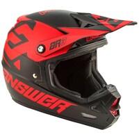 Answer AR3 Bold Helmet Black/Red