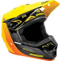 Answer 2021 AR3 Pace Helmet Yellow/Black/Orange