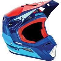 Answer 2021 AR1 Swish Youth Helmet Pro Blue/Astana/Red