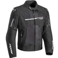 Ixon Raptor Textile Jacket Black/White