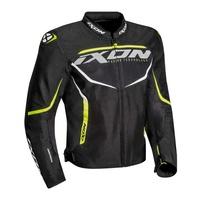Ixon Sprinter Air Textile Jacket Black/Bright Yellow