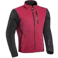 Ixon Brixton Textile Jacket Burgandy/Black