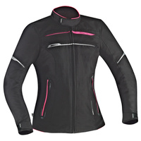 Ixon Zetec Lady HP Textile Ladies Jacket Black/Pink