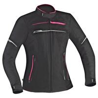 Ixon Zetec Lady HP Textile Ladies Jacket Black/Pink