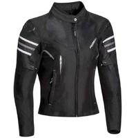 Ixon Ilana Textile Ladies Jacket Black/White
