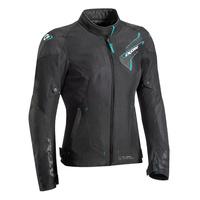 Ixon Luthor Textile Ladies Jacket Black/Emerald