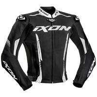 Ixon Vortex 2 Leather Jacket Black/White
