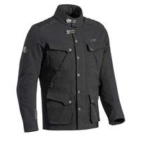 Ixon Exhaust Textile Jacket Black