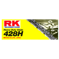 RK Racing 12-481-120 Heavy Duty Chain 428H-428HSB 120 Link