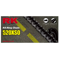 RK CHAIN 520XSO-120L-RX-RING ROAD USE SUIT MOST MOTORCYCLES