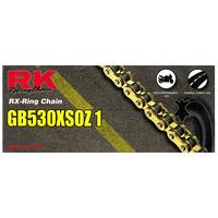 RK Racing 12-53X-114GD Chain GB530XSOZ1 114 Link Gold