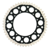 Renthal 123O52050GPBK Twinring 50T Rear Sprocket Black for Suzuki RM RMZ DRZ DR