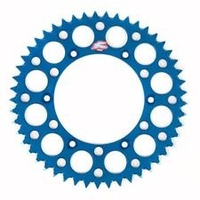 Renthal 150V52048GBU Ultralight 48T Rear Sprocket Blue for Yamaha YZ YZF WRF
