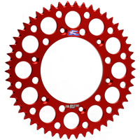 Renthal 154V52050GRD Ultralight 50T Rear Sprocket Red for Honda CR CRF XR