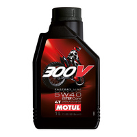 Motul 16-413-01 300V Factory Line Off-Road (5W 40) 1L