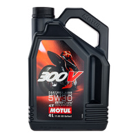 Motul 16-424-04 300V Factory Line Road Racing (5W 30) 4L