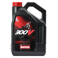 Motul 16-430-04 300V Factory Line Off-Road 15W 60 4L