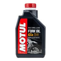 Motul 16-621-01 Fork Oil Factory Line 5W (Light) 1L