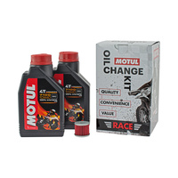 Motul 16-900-05 Race Oil Change Kit for Kawasaki KX250F 04-18