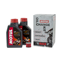 Motul 16-900-08 Race Oil Change Kit for Husqvarna TC/TE449 TE511 11-13