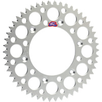 Renthal 192U42046G Ultralight 46T Rear Sprocket Silver for KTM 65 SX 1998-2015