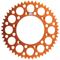 Renthal 192U42048GOR Ultralight 48T Rear Sprocket Orange for KTM 65 SX 98-15