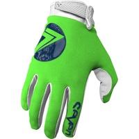 Seven Annex 7 Dot Gloves Fluro Green