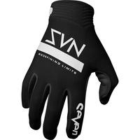 Seven Zero Contour Gloves Black