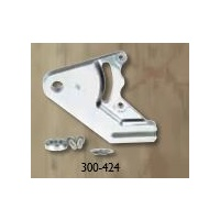"Jaybrake Caliper Bracket Polished 300-4241 Softail 00-06 w-3/4"" Axle Right Side Using 304-Caliper"