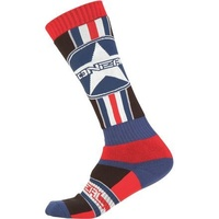 Oneal Pro MX Print Afterburner Socks For Motocross Use