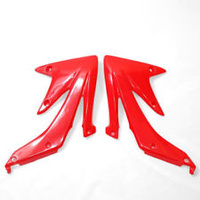 UFO 3655070 Radiator Shrouds Red for Honda CRF450R 2005-08