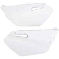 UFO 3856046 Side Panels White for Yamaha YZ85 2002-14
