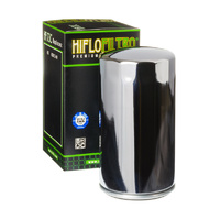 Hiflo Filtro HF1-73 Chrome Oil Filter Extra Long Dyna 91-98 Oem 63813-90