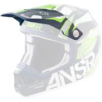 Answer Replacement Visor Peak Valor Blue/Green for EVOL2 Helmets