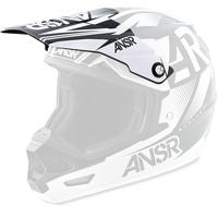 Answer Replacement Visor Peak Black/White for EVOL2 Helmets