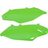 UFO 4720026 Side Panels Green for Kawasaki KX450F 12-15