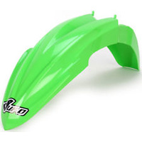 UFO 4726026 Front Fender Green for Kawasaki KX 85 2014 2015
