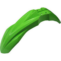 UFO 4733026 Front Fender Green for Kawasaki KX450F 2016