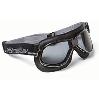 Ariete 54-139-90BK Vintage Goggle Back Leather