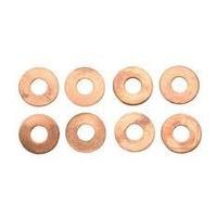 Custom Chrome 54256 Top Rocker Screw Washer Evo Copper (Pack 10)