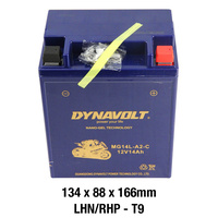 Dynavolt Gel Battery MG14L-A2-C Battery 12 Volt NANO-GEL Series