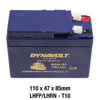 Dynavolt Gel Battery MG4A-BS Battery 12 Volt NANO-GEL Series